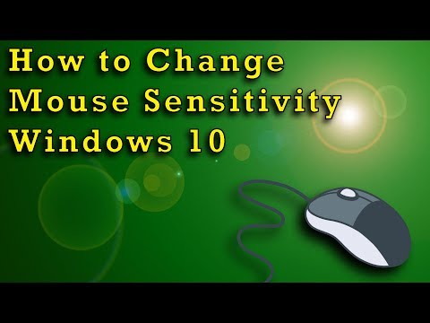 How to Change Mouse Sensitivity - Windows 10