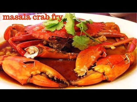 WONDER SEA FOOD   VILLAGE STYLE CRAB MASALA   HEALTHY VILLAGE FOOD