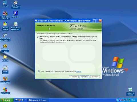 Como instalar c# 2008 express edition