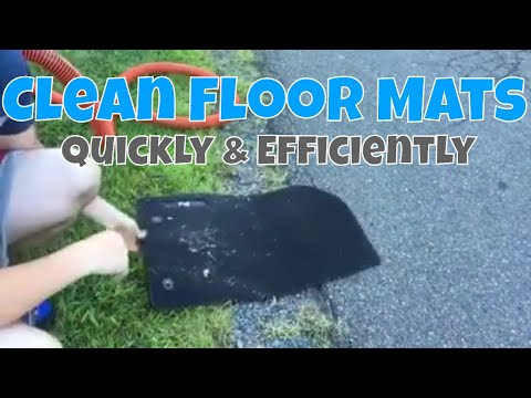 How to Clean Car Carpet Floor Mats Quickly