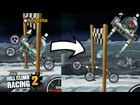 Moonlander crazy Trick | Awesome No Wheel