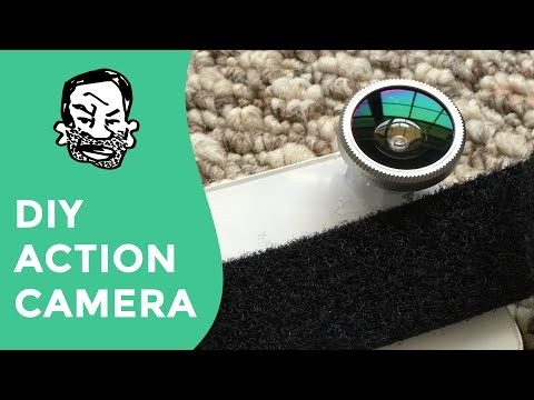 How to make a DIY action camera (use an old phone)