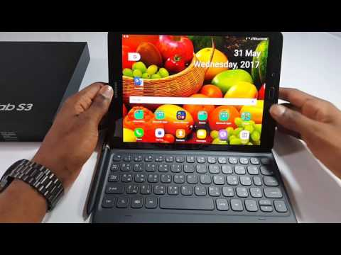 Galaxy Tab s3 official book cover and keyboard