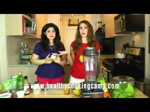 {Healthy} Cooking Camp: Lemon Ginger Slushie Recipe