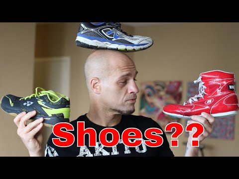 Boxing Shoes and Workout Shoes