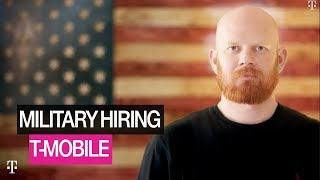 Commitment to Hiring Veterans: Matty's Story | T-Mobile