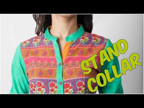 Stand Collar Cutting And Stitching With Useful Tips And Tricks