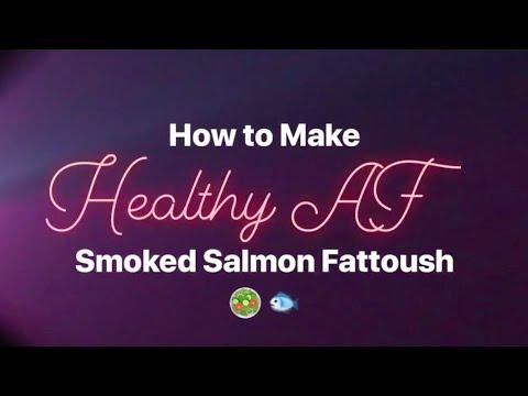 How to Make Smoked Salmon Fattoush