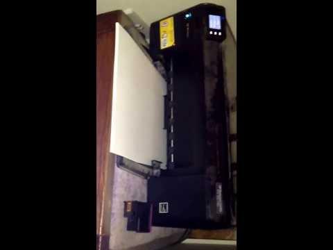 HP Photosmart C4780 printing