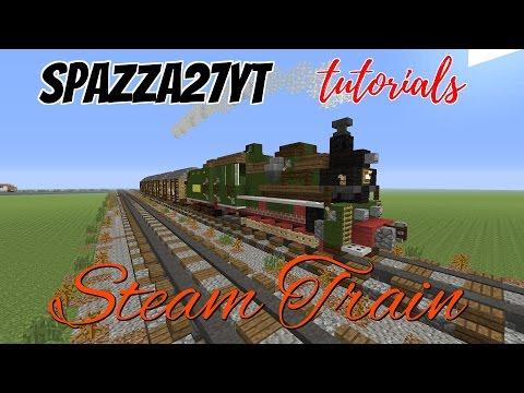 Steam Train Minecraft tutorial