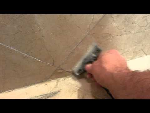 Marble Cleaning and Soap Scum Removal - Marble shower polishing