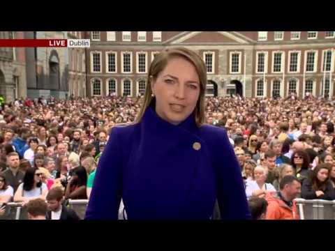 Ireland votes yes to legalising early abortion - Emma Vardy reports
