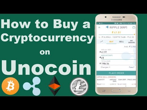How to Buy a Cryptocurrency in India Using Unocoin Exchange