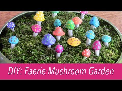 DIY: Faerie Mushroom Garden