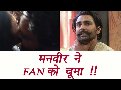 Bigg Boss 10: Manveer Gurjar KISSED A Girl At Mumbai S Orbit Mall; Watch Video   FilmiBeat