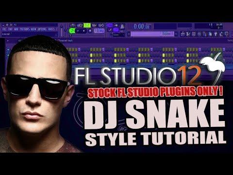 How To Make Music Like DJ Snake Using Only Stock Plugins [FL Studio 12] + FREE FLP !