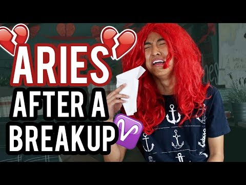 ARIES - Zodiac Signs after a Breakup 💔 ♈