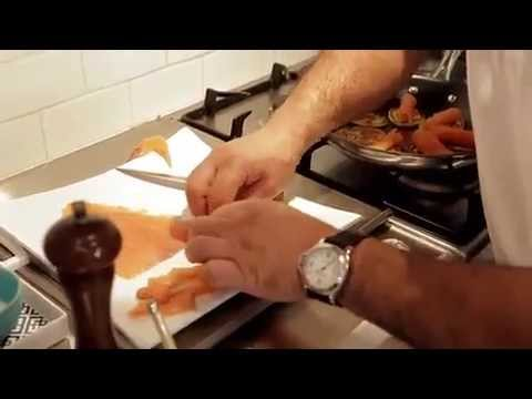 Guillaume Brahimi: How to Make Potato Blinis with Smoked Salmon in the Tefal Heritage Pan