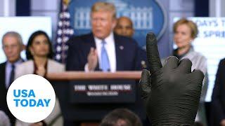 राष्ट्रपति ट्रम्प और Coronavirus टास्क फोर्स अद्यतन महामारी पर | संयुक्त राज्य अमेरिका आज