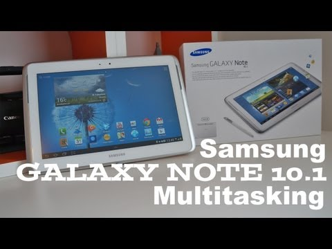 Samsung Galaxy Note 10.1 Multitasking