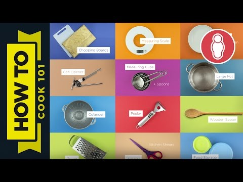 How To Cook For Beginners - The Essentials