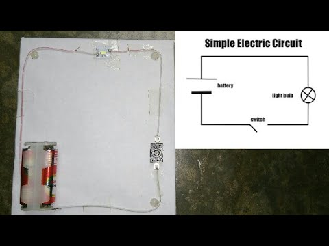 How to make an electric circuit for science project
