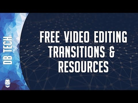 Free Video Editing Transitions And Resources - Rampant Design Tools