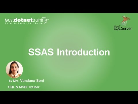 MSBI Tutorial for Beginners - SSAS Introduction
