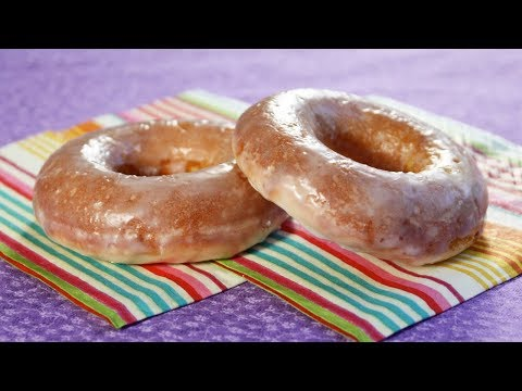 Healthier Oven Baked Doughnuts ( Glazed Donuts )