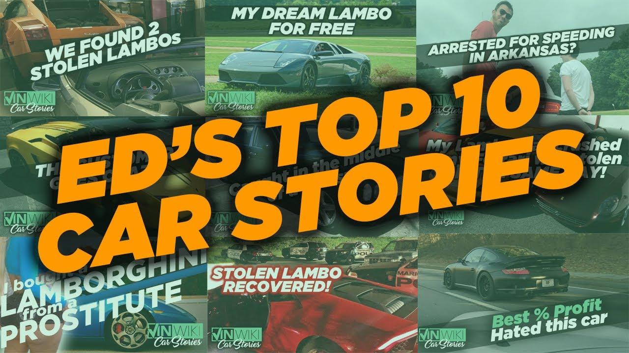 Ed Bolian's Top 10 Car Stories