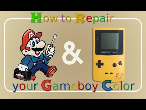 How to make your Gameboy Color look brand new again