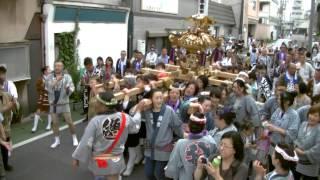 7月13日(日) 木更津 仲片町区 女神輿@八剱八幡神社例大祭