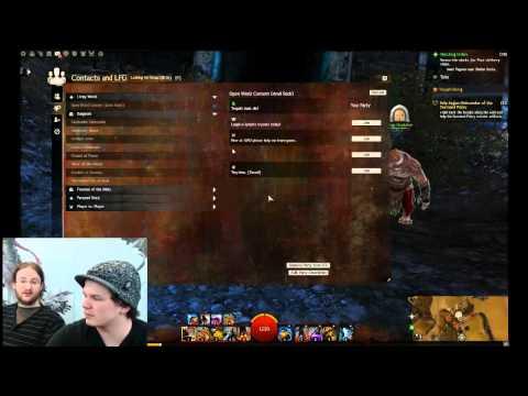 Guild Wars 2 - Developer Guide: LFG Tool
