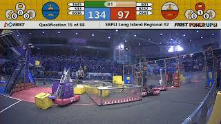 Qual 15 - 2018 SBPLI Long Island Regional #2