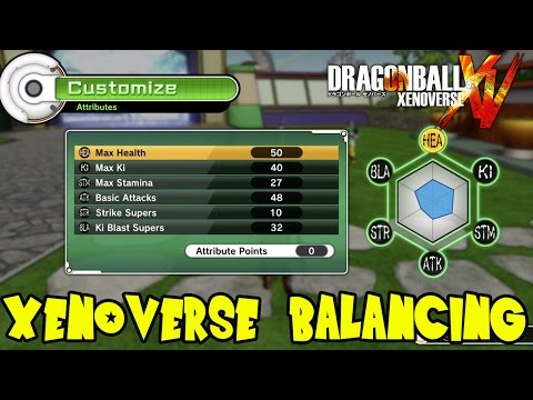 Dragon Ball Xenoverse: How To Balance Custom Created Characters in the Sequel