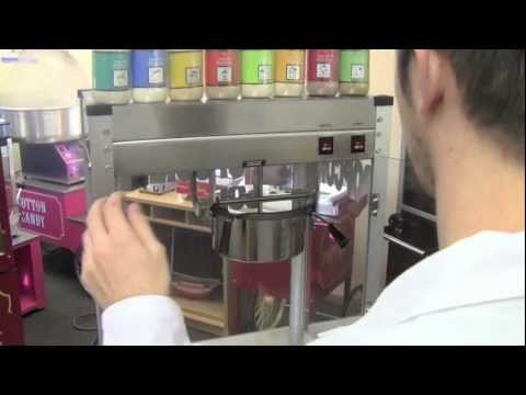 How to Make Popcorn With a Paragon Popcorn Machine