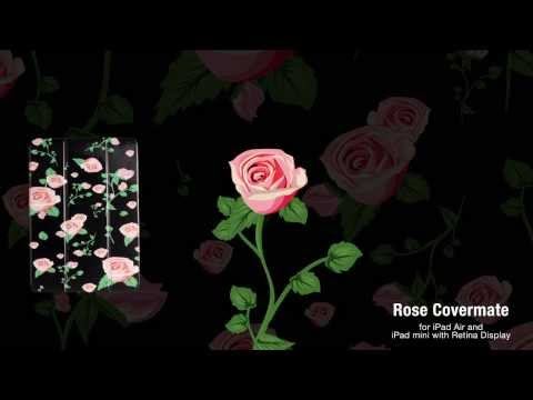 Poetic Rose covermate for iPad mini with Retina and iPad Air