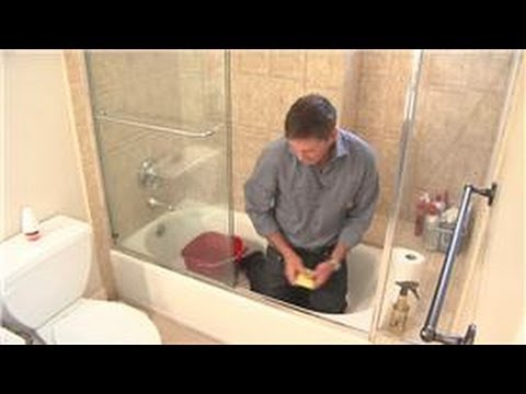 Cleaning Your Shower : How to Clean a Shower Door Track