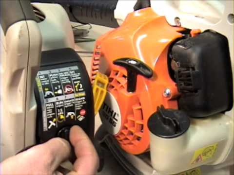 Change the air filter on your string trimmer or leaf blower!