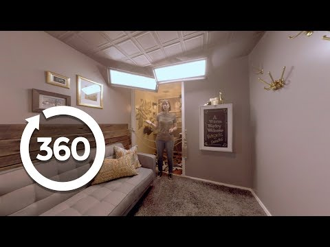 360 Tour of John and Genevieve's Trading Spaces Rooms