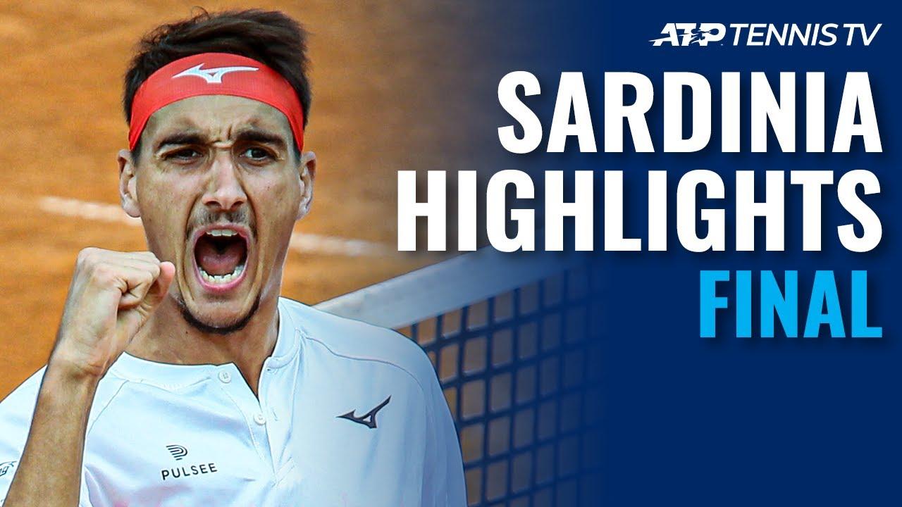 Laslo Djere vs Lorenzo Sonego | Sardinia 2021 Final Highlights
