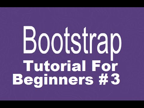 Bootstrap Tutorial For Beginners 3 - Row and Column in Grid System