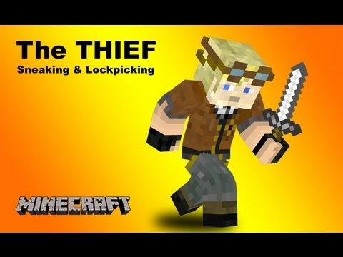 RPG Class - THIEF: Sneaking and Lockpicking in Vanilla Minecraft 1.7