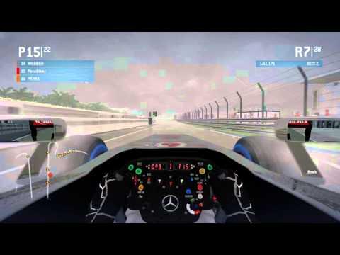 F1 2013 || ONLINE Multiplayer || Malaysia 50% Race (rain)