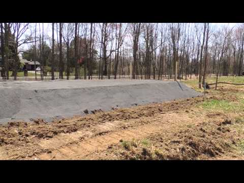 Casadonti Homes Inc. 6625 Ferry Rd. - Sand mound install