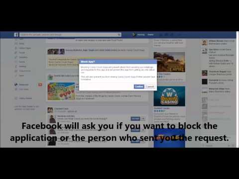 How to block candy crush on facebook