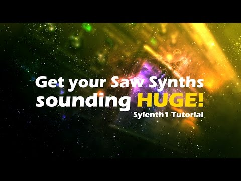 How to make a CLEAN Super Saw Synth | Sylenth1 Tutorial