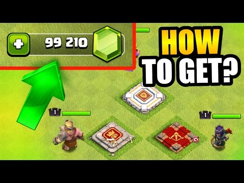 Clash Of Clans - GEMMING NEW HERO'S! - HOW TO GET FREE GEMS?