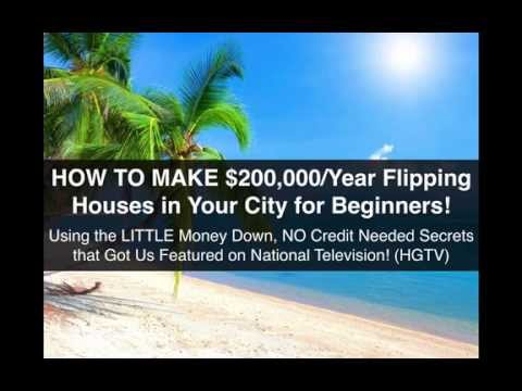 HOW TO FLIP HOUSES with Little Money Down! $15,000+ a Month in Your City??