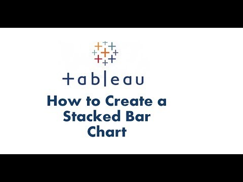 Tableau tutorial | How to Create a Stacked Bar Chart in Tableau | Tableau Data Visualization